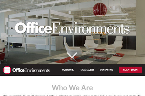 Office Environments Website
