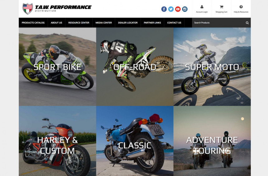 T.A.W. Performance Website