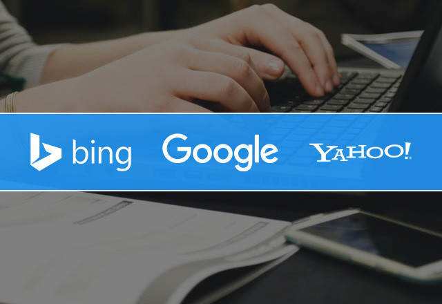 Search Engines - Google - Bing - Yahoo