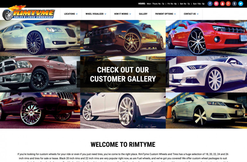 Rimtyme Website - Customwheelsnc.com