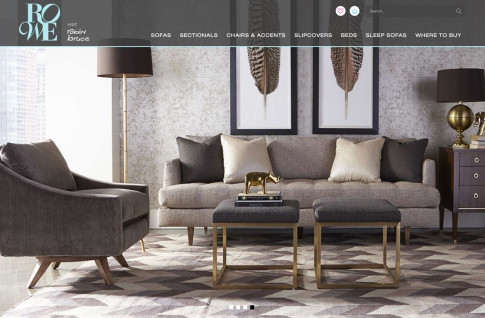 Rowe Furniture Responsive Website