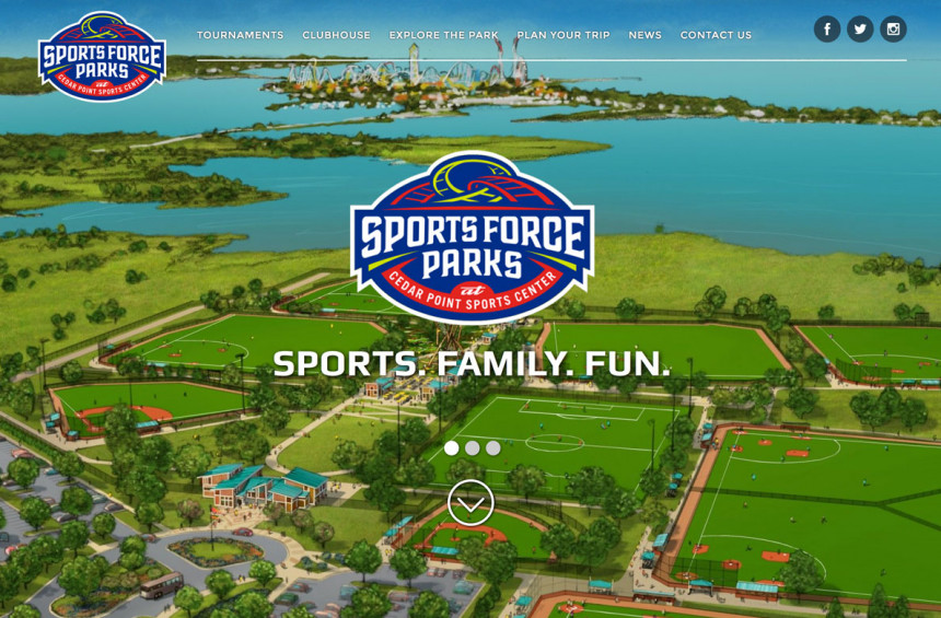 SportsForce Parks Website