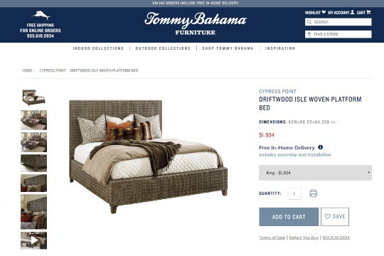 Tommy Bahama Home Decor