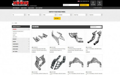 E-dreamz Automotive eCommerce - Kooks Headers