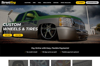 Streetking Website Echo+ Platform by E-dreamz