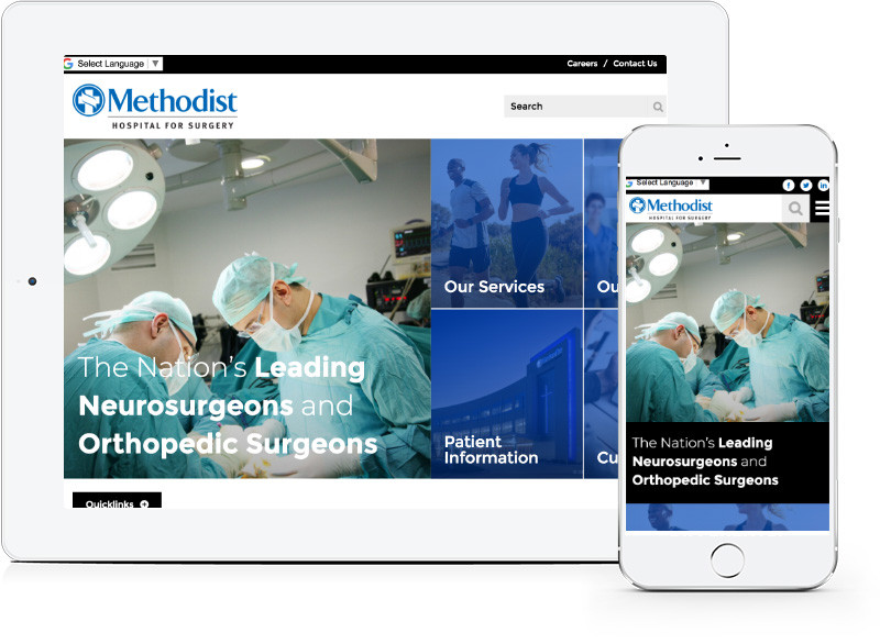 Methodist Hospital New Website   Blog   E-dreamz