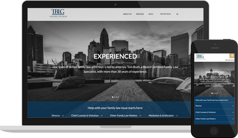 Tom Bush Law Website