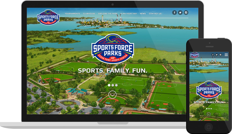 Sports Force Website