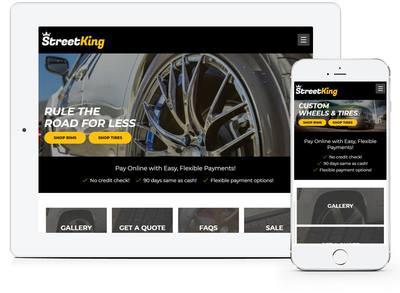 StreetKing Web Design by E-dreamz